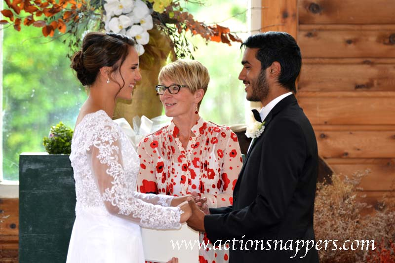 Opal and Mahesh's wedding at Gails of Tamahere